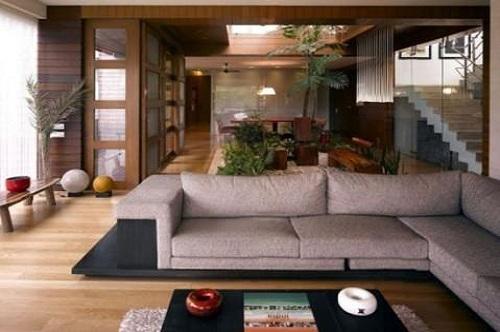 Amitabh Bachchan's House Pratiksha - Living Room