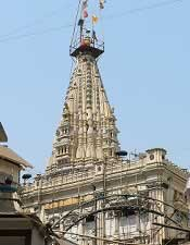 Mumbai city is named after Goddess Mumbadevi. This is her temple.