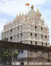 Mumbai's famous Siddhivinayak Temple is dedicated to God Ganpati.