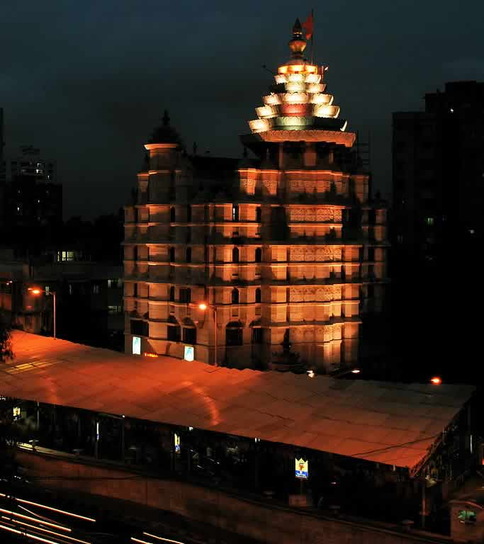 Mumbai's Siddhivinayak is the richest Hindu temple in the city.