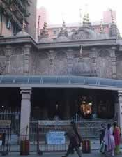 Swaminarayan Temple outside Dadar (West) local station in Mumbai.