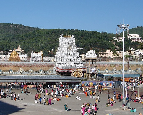 Tirupati Balaji Temple is the number 1 tourist destination in India