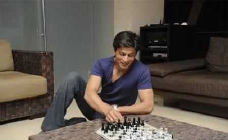 Pic of Shahrukh Khan at home.