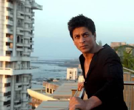 View that Shahrukh Khan sees from his house.