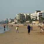 Juhu Beach will have large crowds on New Year Eve 2012.