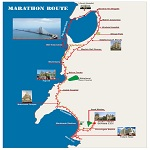 2012 Mumbai Marathon (Open) Category Route Map
