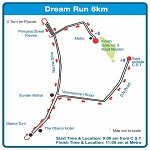 Mumbai Marathon Dream Run 2012 Route Map