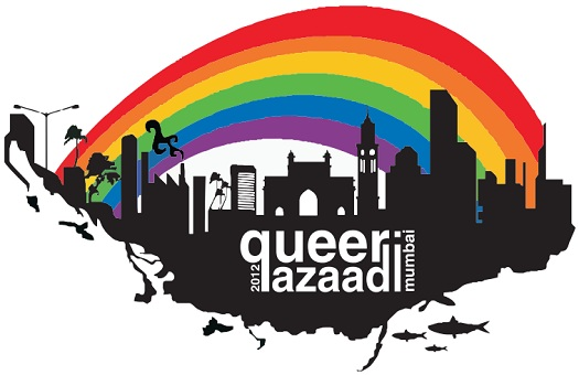 """Queer Azaadi March"" (QAM) or Mumbai Gay Pride Parade on January 28, 2012"