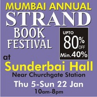 2012 Strand Book Stall Sale from Jan 5 to Jan 22