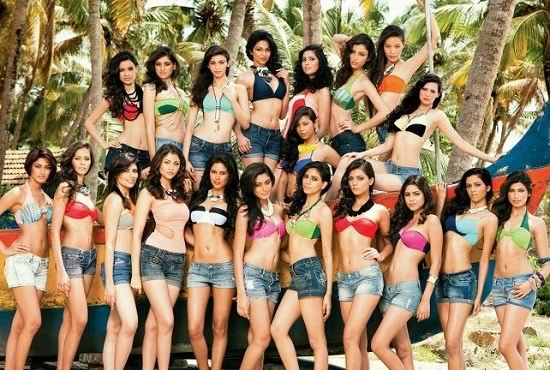 All 20 Finalist of Femina Miss India 2012 Beauty Contest