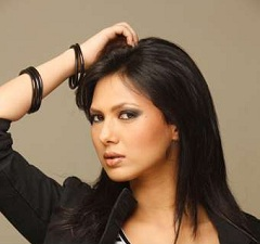 Image of Rochelle Maria Rao 2012 Femina Miss India Beauty Pageant Contest Final Contestant