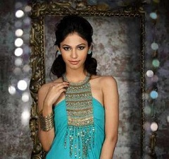 Shamata Anchan 2012 Femina Miss India Beauty Contest Contestant