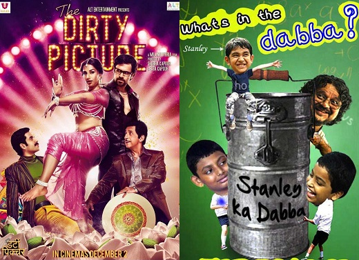 The Dirty Picture, Stanley Ka Dabba on Sunday, 12 February at the 2012 Kala Ghoda Festival