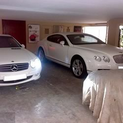 Bachchan cars and their garage at home Jalsa