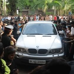 Bachchan family BMW car