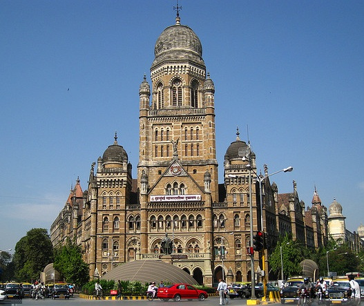 BMC HQ where the 2012 - 2013 Mumbai budget was presented.