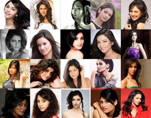 All 2012 Miss India Participants