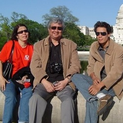 Miss India Rochelle Rao's parents Dr n V Rao & Wendy Rao