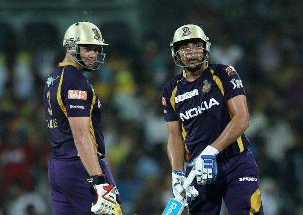 Manvinder Bisla and Jacques Kallis - The two heroes of KKR win in the final of IPL5