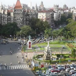 ombay's Flora Fountain is an important tourist junction which connect the main sights of South Mumbai