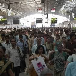 Bombay Churchgate station is popular tourist destination