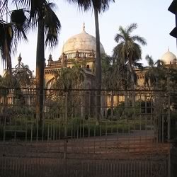 Mumbai's Prince of Wales Museum (Chhatrapai Shivaji Maharaj Vastu Sangrahalaya) is frequented by tourists.