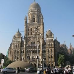 Mumbai's BMC Municipal Corporation headquarter is the second most important tourist building in Bombay. It is opposite VT.