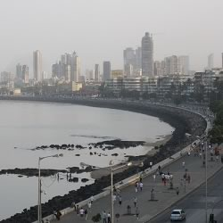 Mumbai's Marine Drive is a favorite tourist sightseeing destination.
