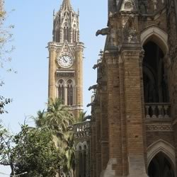 Mumbai University and Rajabai Tower are difficult to miss tourist attractions in South Mumbai