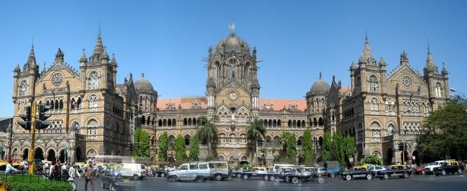Victoria Terminus or Chhatrapati_Shivaji_Terminus is the most beautiful building in Bombay
