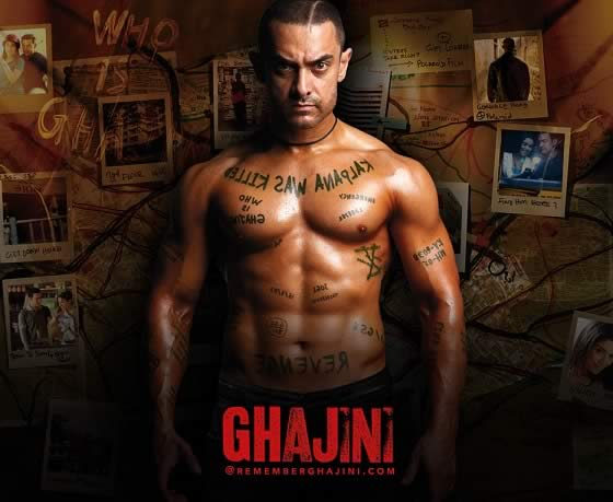 Aamir Khan's Ghajini was the first film to make over Rs 100 crore in India.