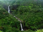 Picture of Kune Waterfall at Lonavala - Khandala during the rains.