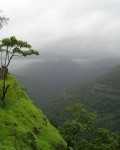 View from Tiger Point which is a popular destination in Lonavala - Khandala Hillstations