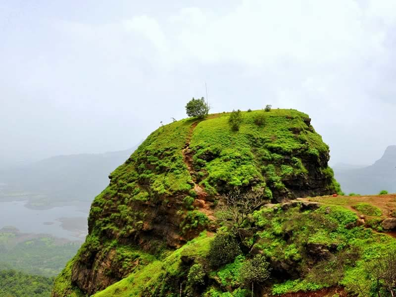 The rainy season is a good time to visit Matheran hill station.