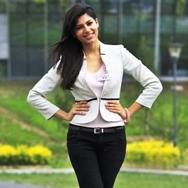 Photo of Vanya Mishra, Miss India 2012, at Miss World 2012 in Ordos, Inner Mongolia, China