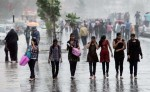 Mumbai girls getting wet in the rains and having fun during the monsoons