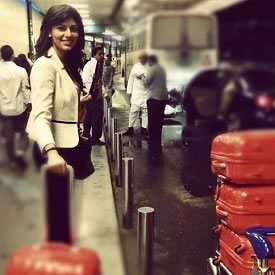 2012 Miss India, Vanya Mishra, Leaving For Miss World 2012 in Ordos