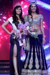 Femina Miss India 2012 Vanya Mishra with Miss World Ivian Lunasol Sarcos Colimenares
