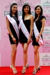Picture of the 3 winners of Femina Miss India 2012, Prachi Mishra, Vanya Mishra and Rochelle Rao