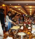 Vanya Mishra (Miss India), enjoying the local cuisine in China during 2012 Miss World