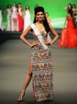 Miss India, Vanya in a Malini Ramani dress during the Designer Award Event at Miss World 2012