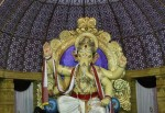 The 2012 Borivali Ganesh is called Upnagarcha Raja or the King of the Suburbs.
