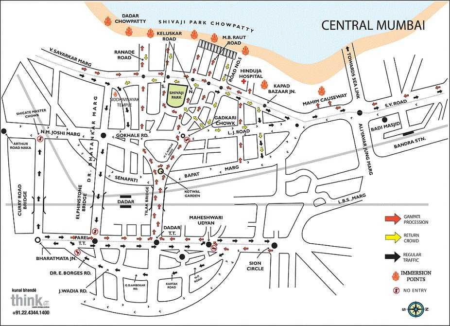 Mumbai Ganesh Immersion (Visarjan) Route, Pictures And ...: http://wonderfulmumbai.com/mumbai-ganesh-immersion-visarjan-route-pictures-location/