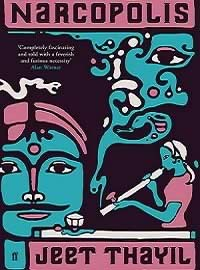 "Poet Jeet Thayil's 2012 Man Booker Prize nominated debut novel, ""Nacropolis"""