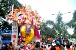 The 10 hand, 7th Lane Khetwadi Ganpati statue was made by Vijay Khatu. This is one of the 2012 landmark statues in Mumbai.