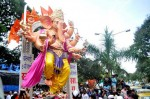 For the 2012 Ganesh Chaturti festival, the Khetwadi 7th Gali Mandal had a large 10 hand Ganpati idol.