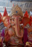 Distinctive and imposing 7th Galli Kethwadi Ganesh statue of 2012