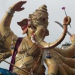 Awesome Khetwadi 11th Galli Ganesh Statue. This is among the best Ganpati idols in 2012 Vinayaka Chaturthi in Mumbai.