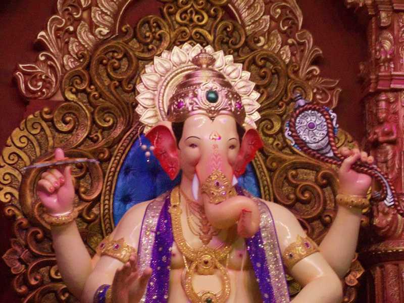 Lalbaug Cha Raja Ganesh Idol 2012 The Most Famous Ganpati
