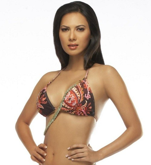 Bikini swimsuit photo of Miss India International 2012, Rochelle Maria Rao